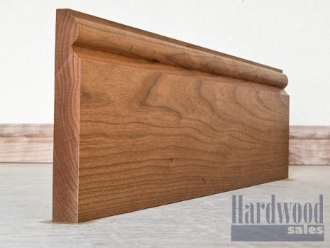 Torus Solid Cherry Timber Skirting