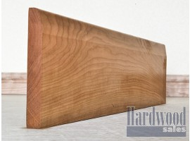 Chamfered Solid Cherry Timber Skirting