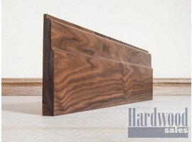 Lambs Tongue Solid Black Walnut Timber Skirting