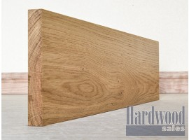 Planed All Round Solid European Oak Timber Skirting