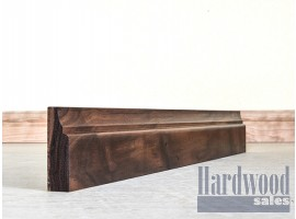 Scotia Solid Black Walnut Timber Architrave