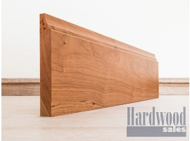 Scotia Solid Cherry Timber Skirting