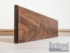 ROUND EDGE SKIRTING SOLID BLACK WALNUT